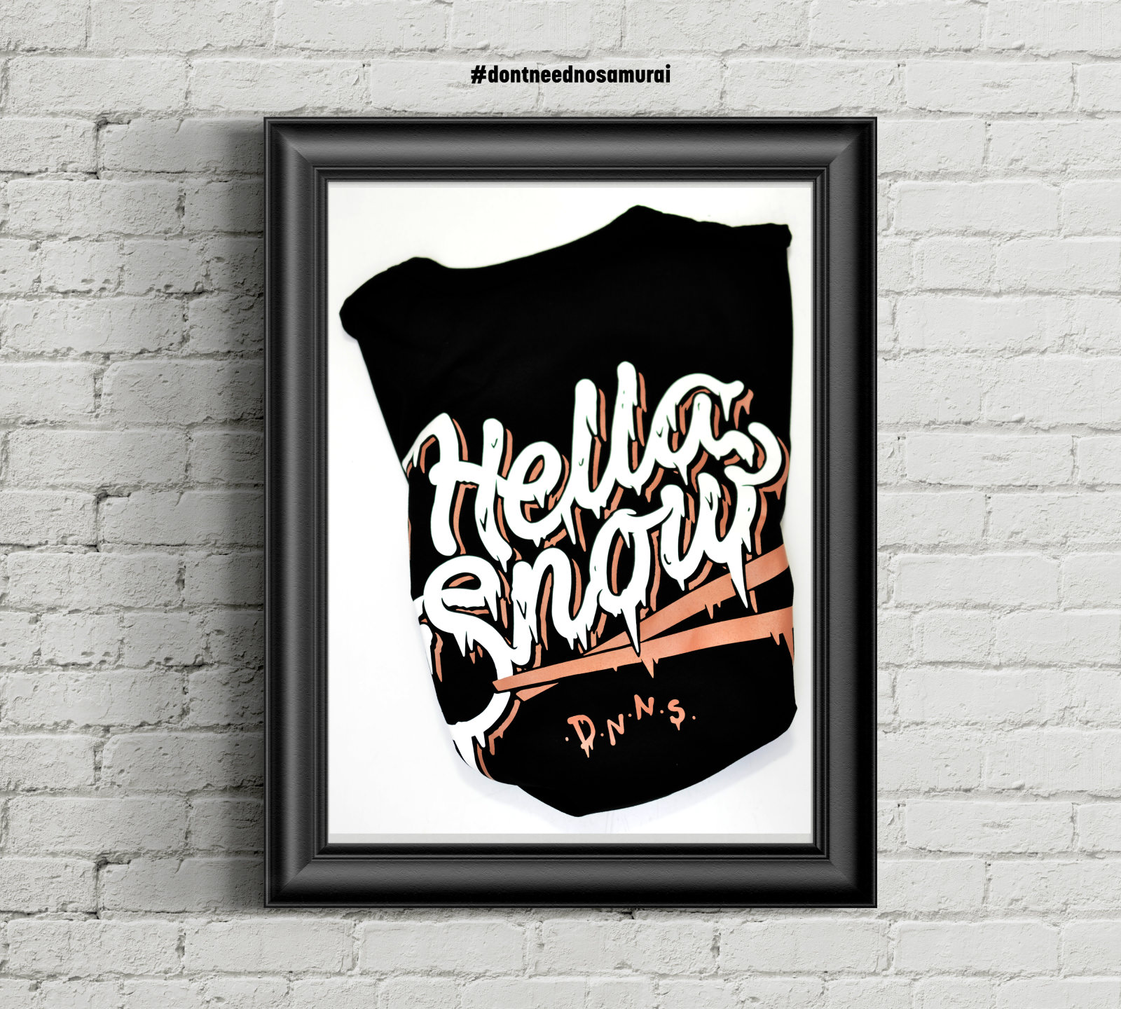 T-SHIRT HELLA SNOW FREERIDE