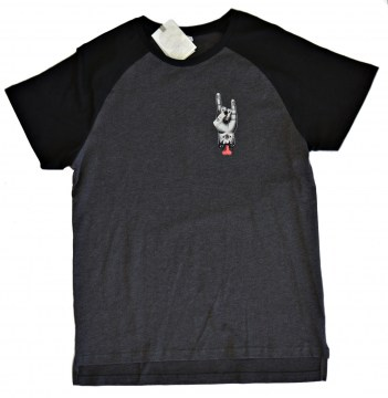 T-SHIRT HORNED HAND BASIC